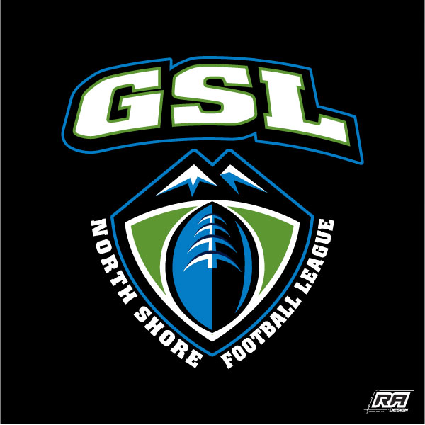 Logo Design by RA-Design - Entry No. 19 in the Logo Design Contest Unique Logo Design Wanted for GSL Football, also known as North Shore Football.
