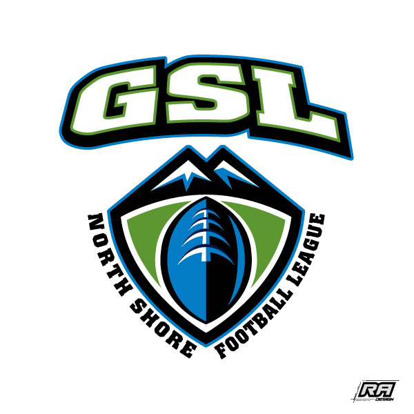 Logo Design by RA-Design - Entry No. 20 in the Logo Design Contest Unique Logo Design Wanted for GSL Football, also known as North Shore Football.