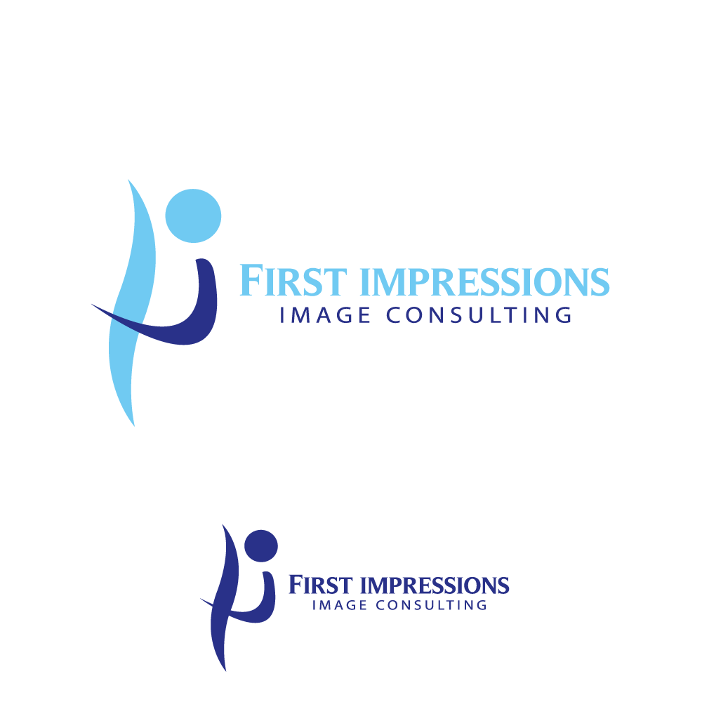 Logo Design by rockin - Entry No. 33 in the Logo Design Contest First Impressions Image Consulting Logo Design.