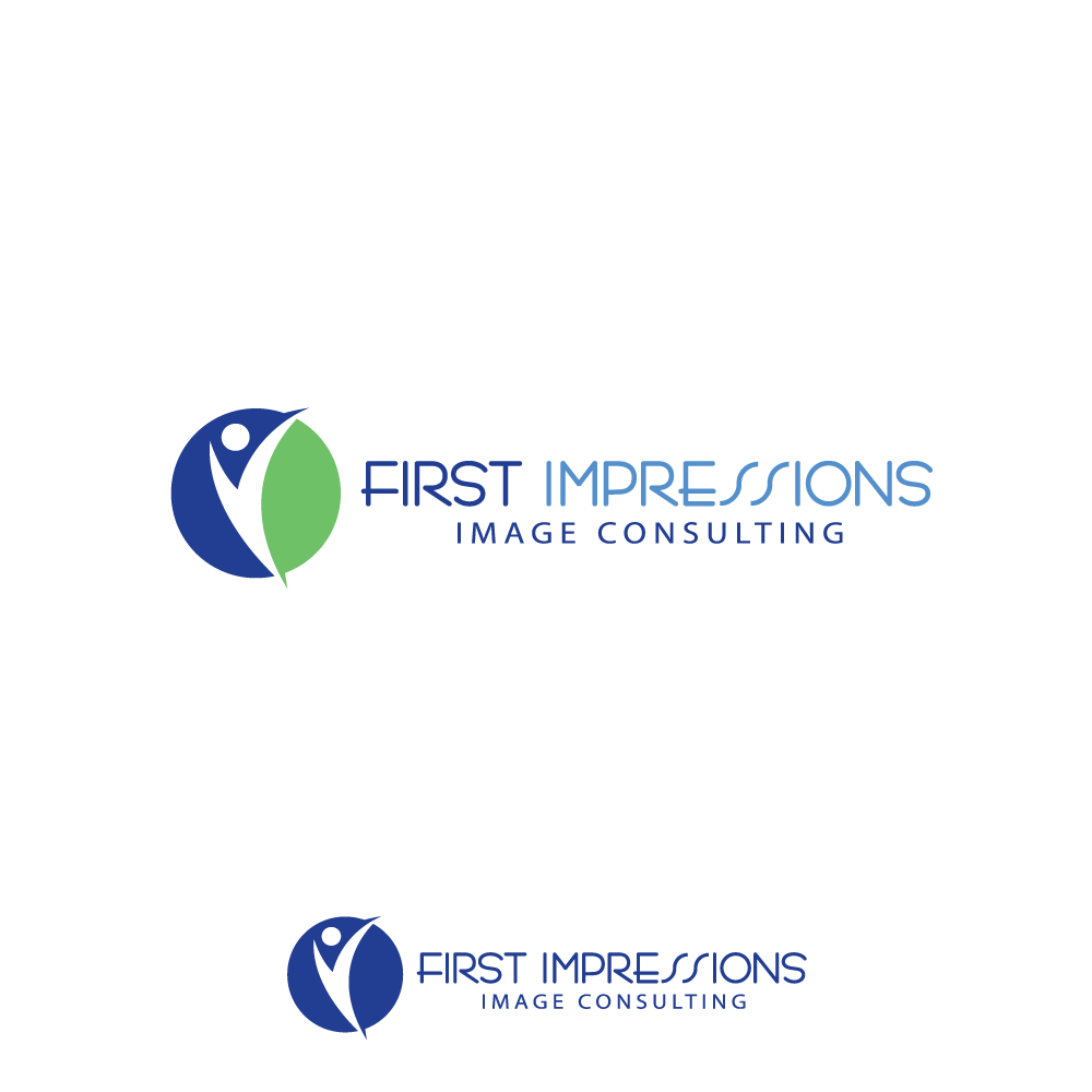 Logo Design by rockin - Entry No. 35 in the Logo Design Contest First Impressions Image Consulting Logo Design.