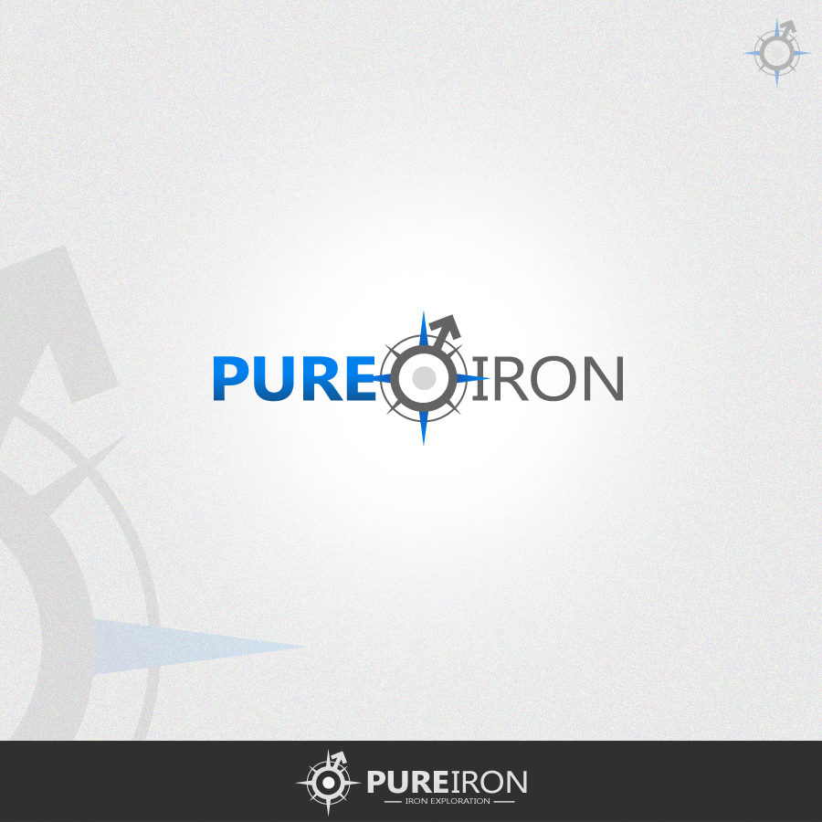 Logo Design by rockpinoy - Entry No. 115 in the Logo Design Contest Fun Logo Design for Pure Iron.