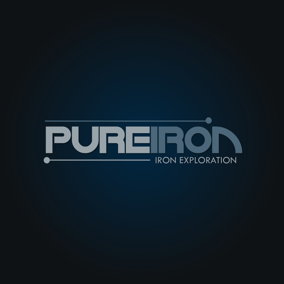 Logo Design by moonflower - Entry No. 118 in the Logo Design Contest Fun Logo Design for Pure Iron.