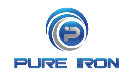Logo Design by Private User - Entry No. 119 in the Logo Design Contest Fun Logo Design for Pure Iron.