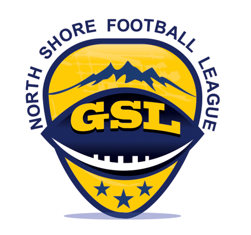 Logo Design by Private User - Entry No. 21 in the Logo Design Contest Unique Logo Design Wanted for GSL Football, also known as North Shore Football.