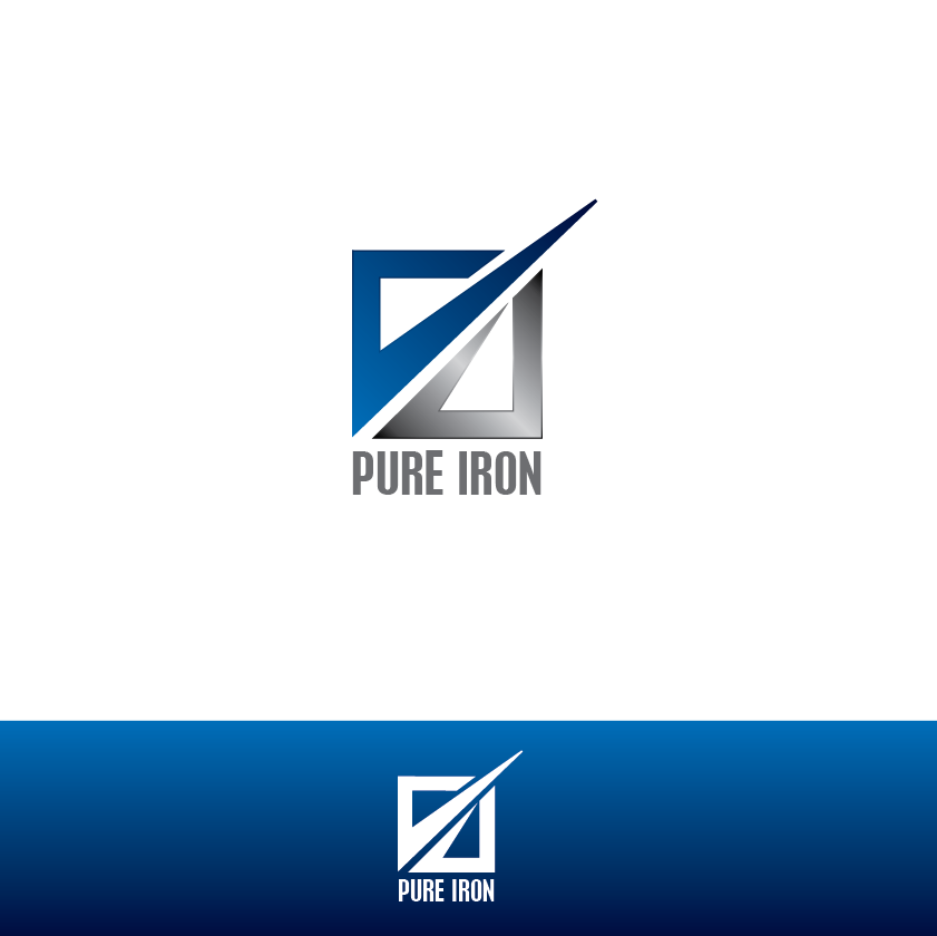 Logo Design by limix - Entry No. 120 in the Logo Design Contest Fun Logo Design for Pure Iron.