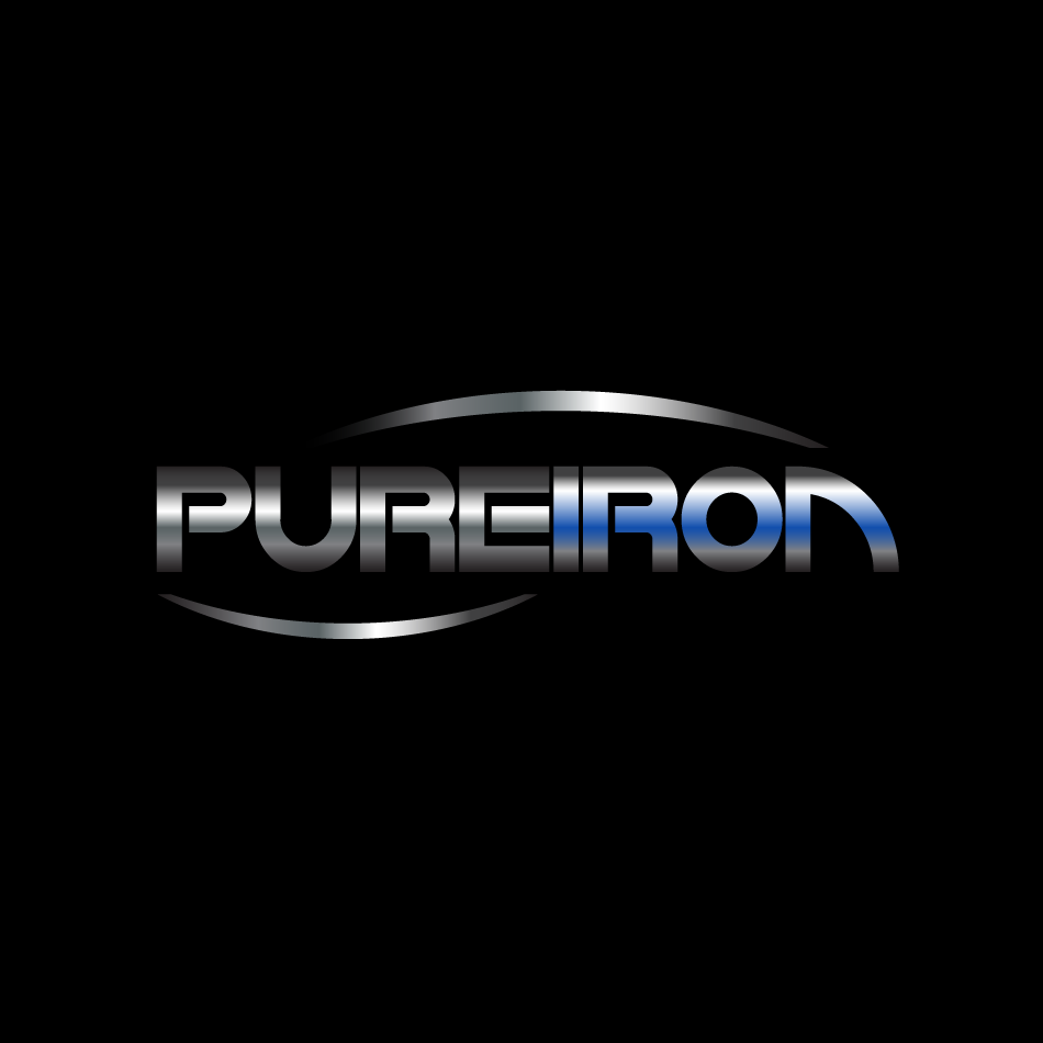 Logo Design by moonflower - Entry No. 126 in the Logo Design Contest Fun Logo Design for Pure Iron.