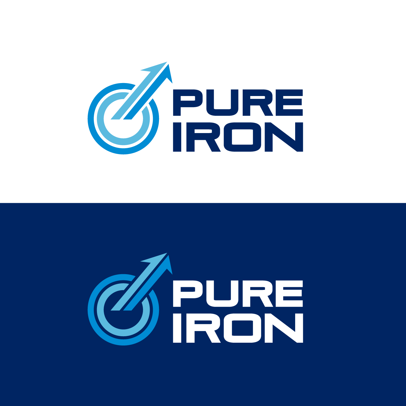 Logo Design by luna - Entry No. 128 in the Logo Design Contest Fun Logo Design for Pure Iron.