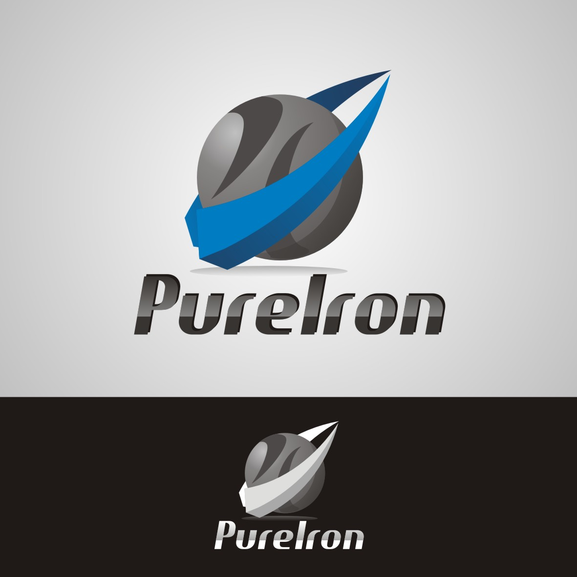 Logo Design by arteo_design - Entry No. 129 in the Logo Design Contest Fun Logo Design for Pure Iron.