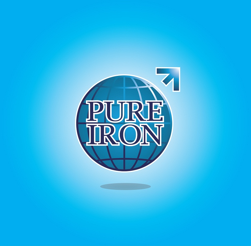 Logo Design by kowreck - Entry No. 131 in the Logo Design Contest Fun Logo Design for Pure Iron.
