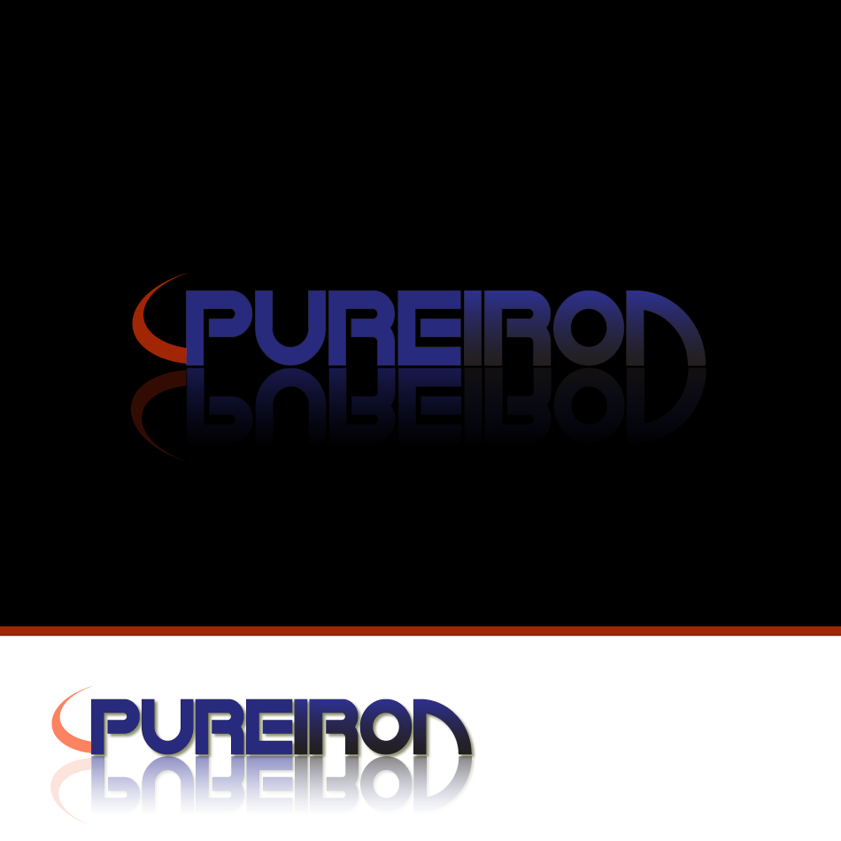 Logo Design by moonflower - Entry No. 132 in the Logo Design Contest Fun Logo Design for Pure Iron.