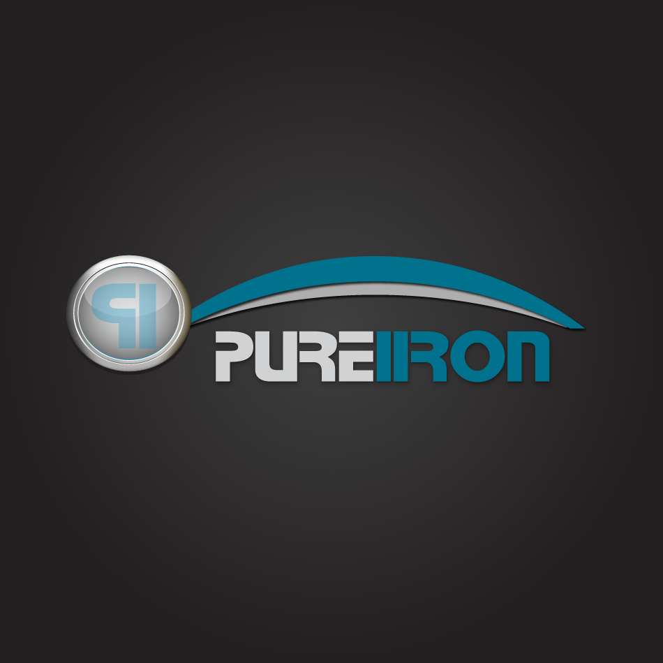 Logo Design by moonflower - Entry No. 133 in the Logo Design Contest Fun Logo Design for Pure Iron.