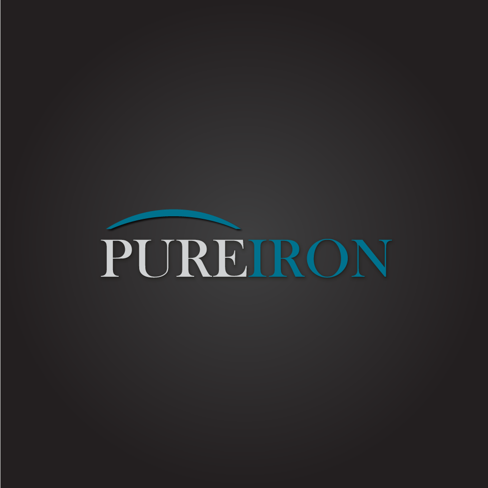 Logo Design by moonflower - Entry No. 134 in the Logo Design Contest Fun Logo Design for Pure Iron.