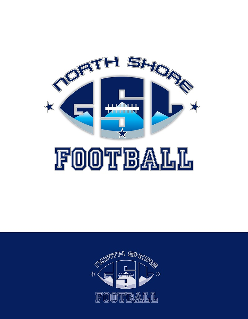 Logo Design by kowreck - Entry No. 23 in the Logo Design Contest Unique Logo Design Wanted for GSL Football, also known as North Shore Football.