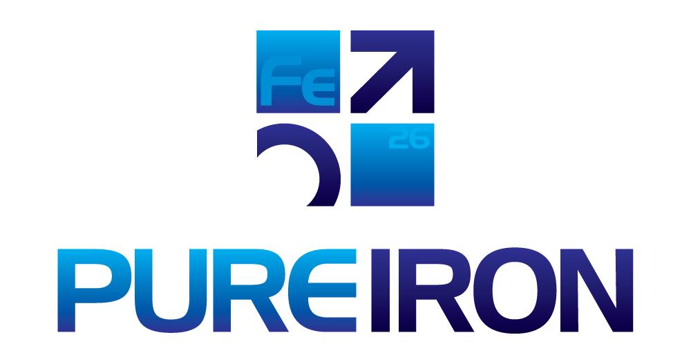 Logo Design by Dan Schaub - Entry No. 139 in the Logo Design Contest Fun Logo Design for Pure Iron.