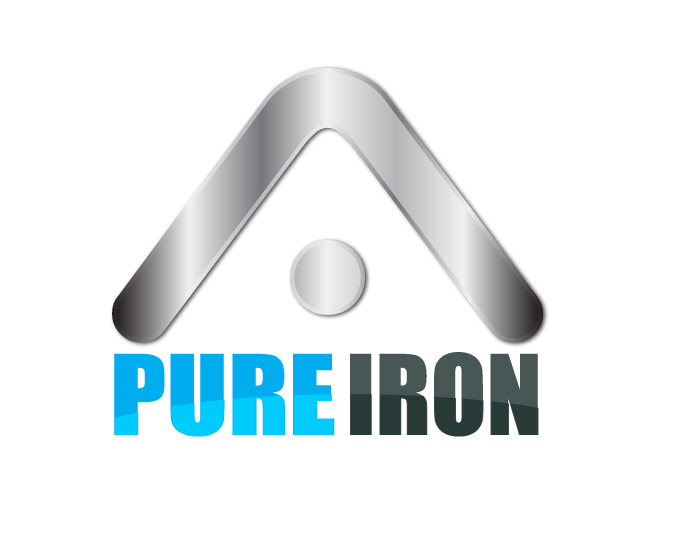 Logo Design by Diana Roder - Entry No. 144 in the Logo Design Contest Fun Logo Design for Pure Iron.