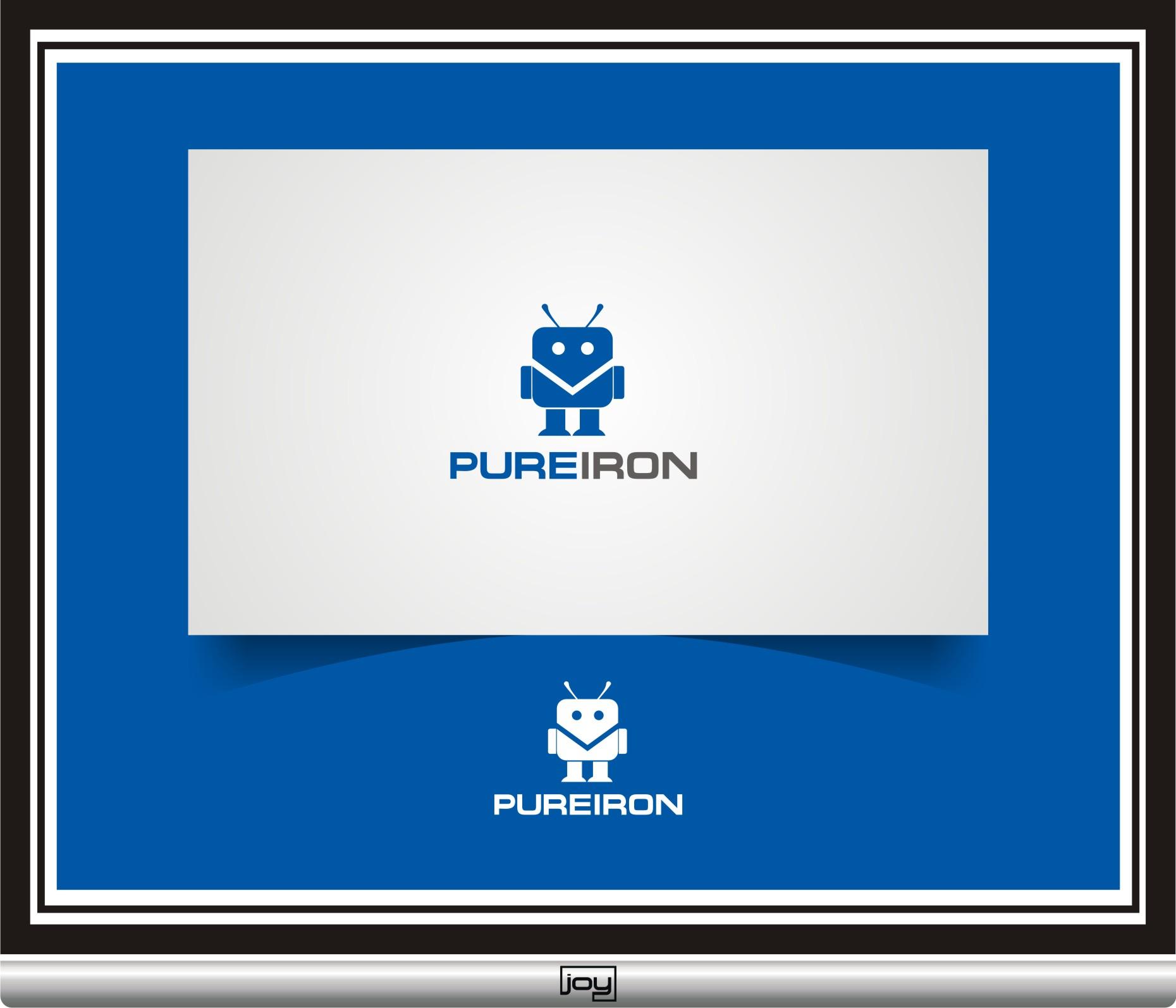 Logo Design by joysetiawan - Entry No. 145 in the Logo Design Contest Fun Logo Design for Pure Iron.