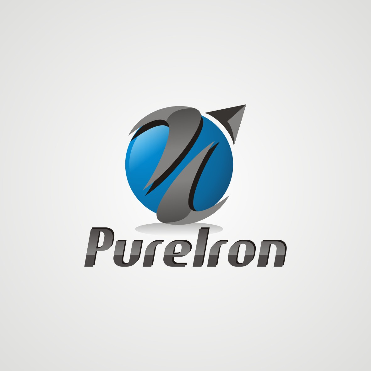 Logo Design by arteo_design - Entry No. 146 in the Logo Design Contest Fun Logo Design for Pure Iron.