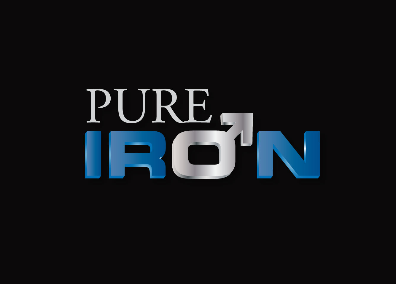Logo Design by Himanth Kumar - Entry No. 147 in the Logo Design Contest Fun Logo Design for Pure Iron.