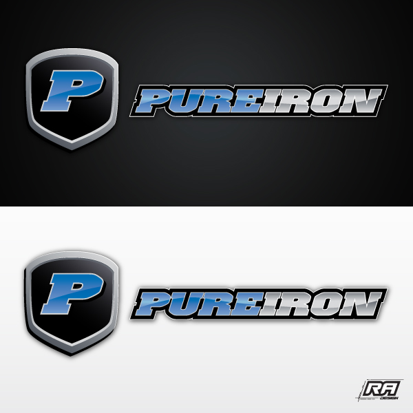 Logo Design by RA-Design - Entry No. 152 in the Logo Design Contest Fun Logo Design for Pure Iron.
