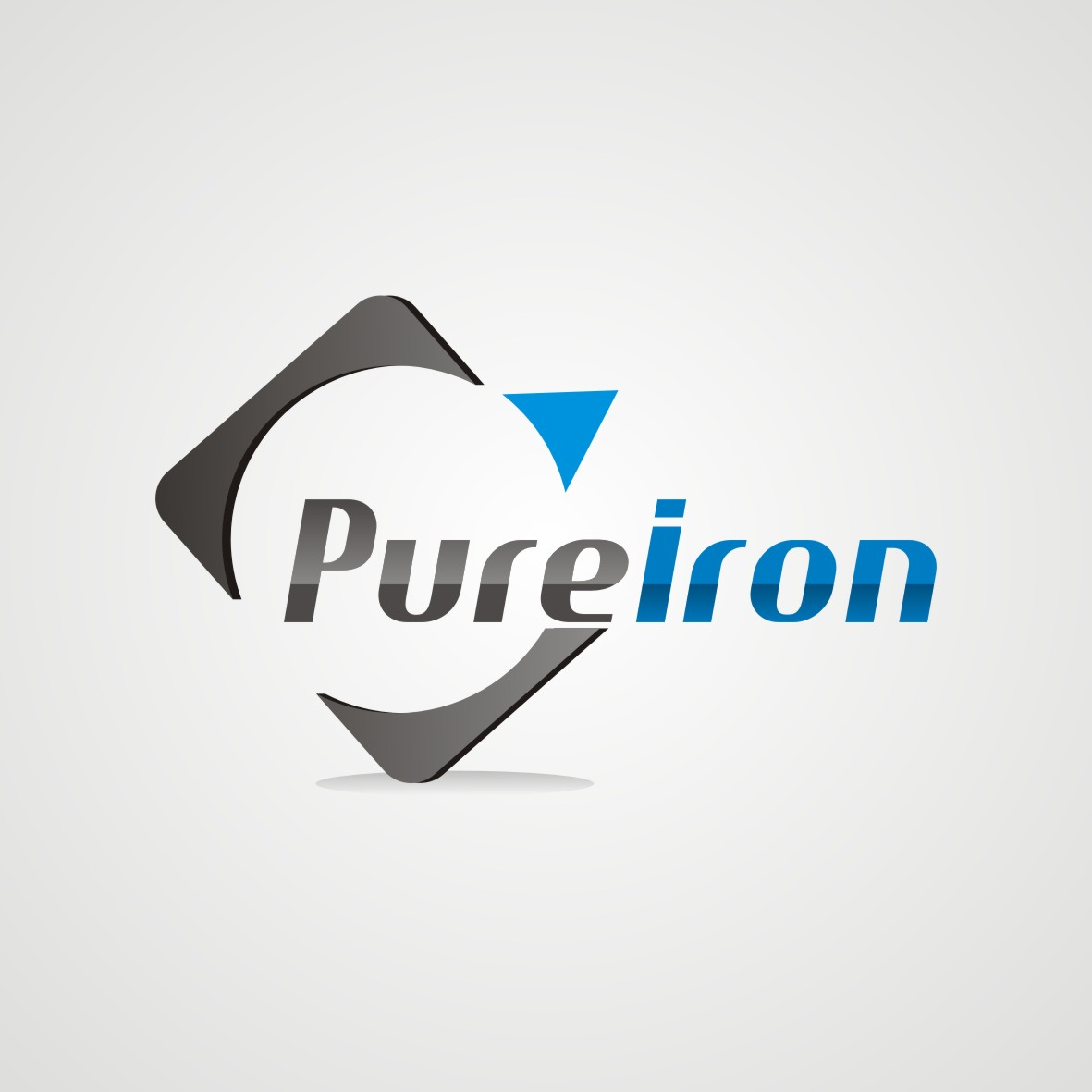 Logo Design by arteo_design - Entry No. 154 in the Logo Design Contest Fun Logo Design for Pure Iron.