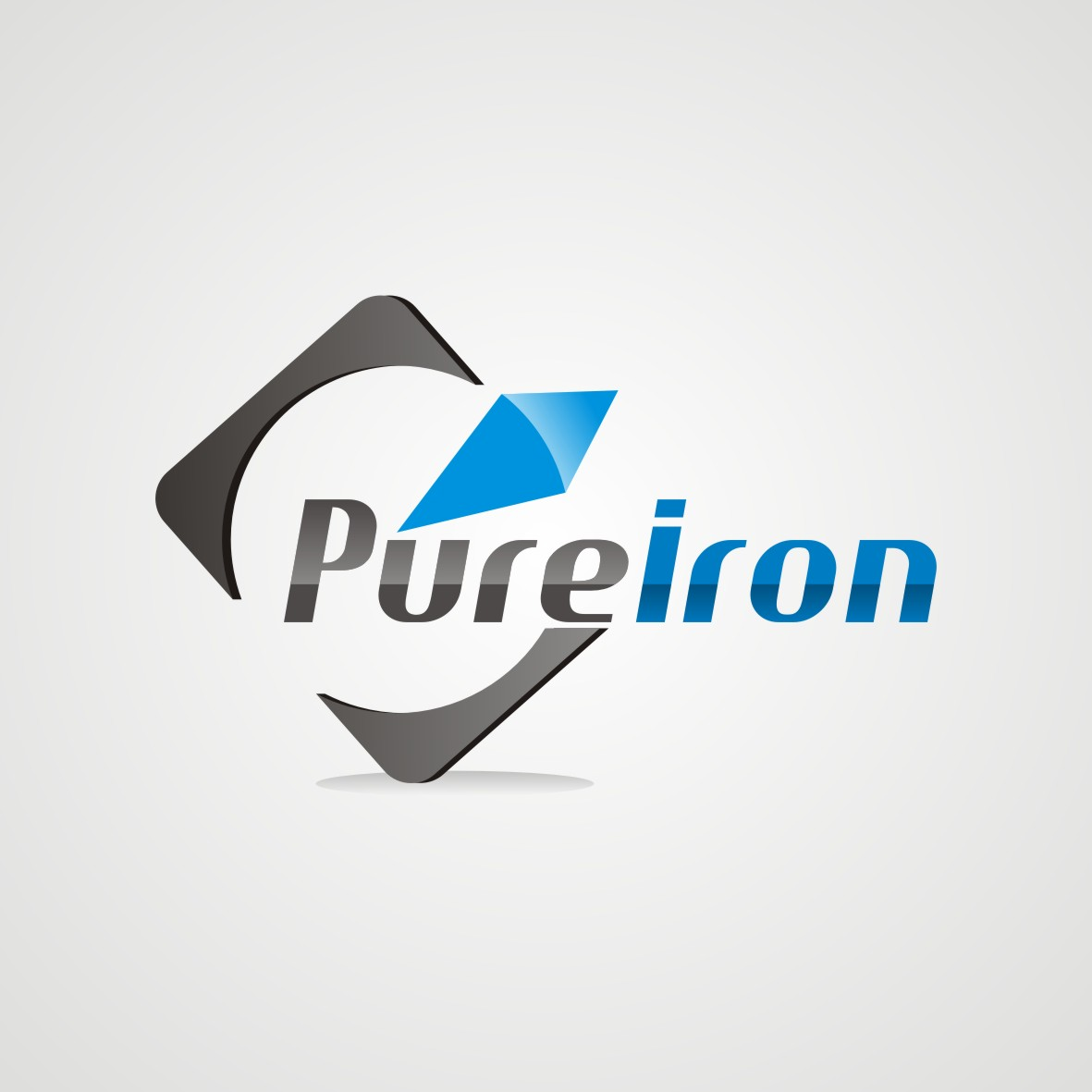 Logo Design by arteo_design - Entry No. 155 in the Logo Design Contest Fun Logo Design for Pure Iron.