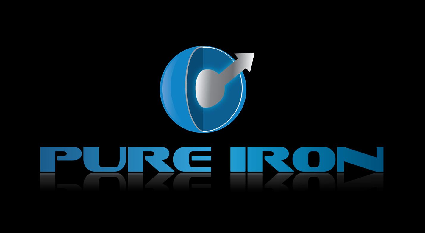 Logo Design by robken0174 - Entry No. 157 in the Logo Design Contest Fun Logo Design for Pure Iron.