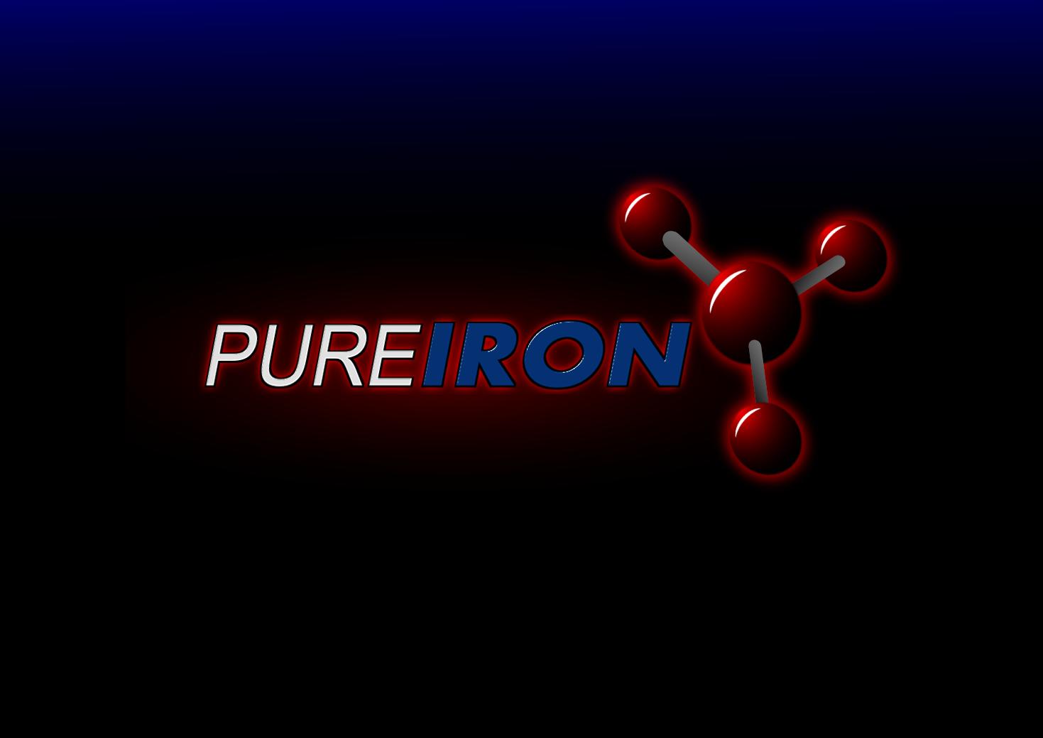 Logo Design by whoosef - Entry No. 160 in the Logo Design Contest Fun Logo Design for Pure Iron.