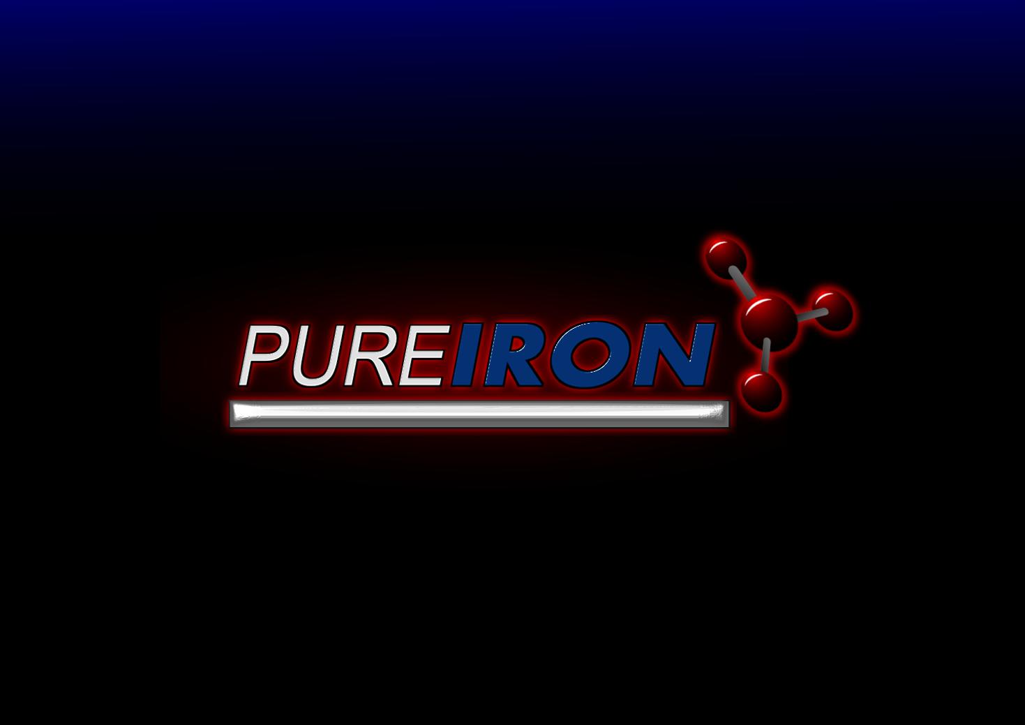Logo Design by whoosef - Entry No. 162 in the Logo Design Contest Fun Logo Design for Pure Iron.
