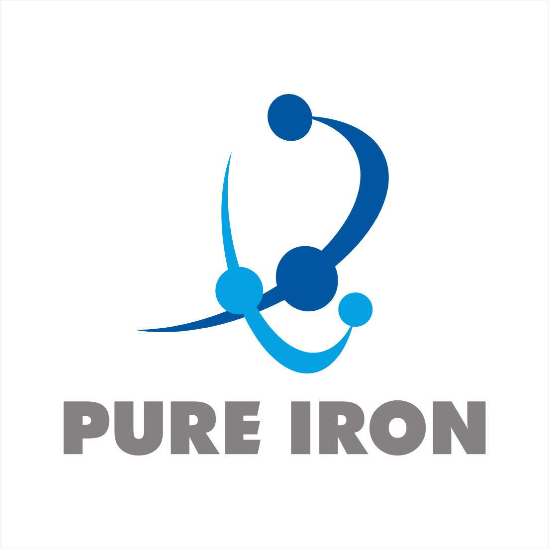 Logo Design by oldpapa - Entry No. 166 in the Logo Design Contest Fun Logo Design for Pure Iron.