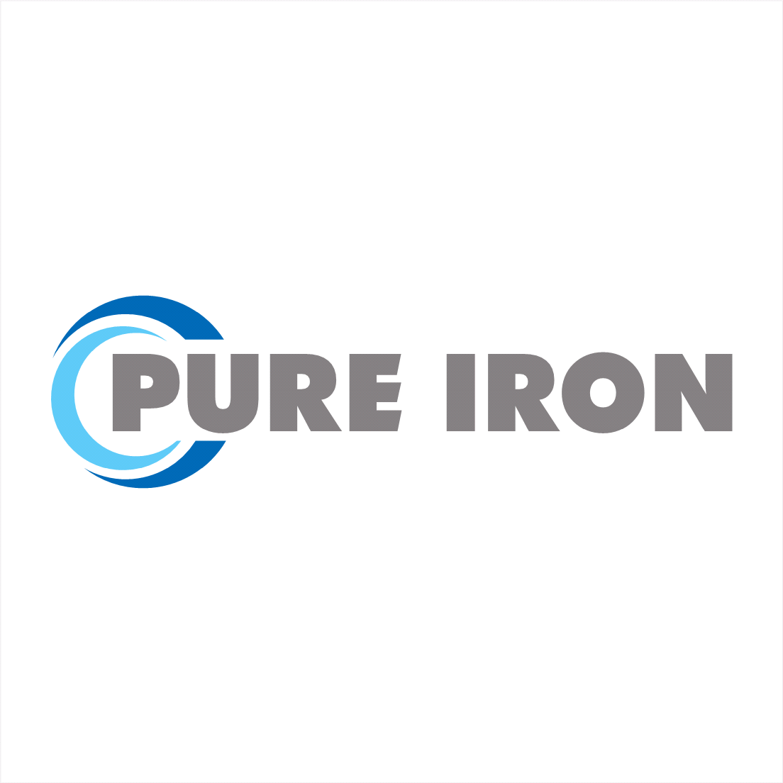 Logo Design by oldpapa - Entry No. 167 in the Logo Design Contest Fun Logo Design for Pure Iron.