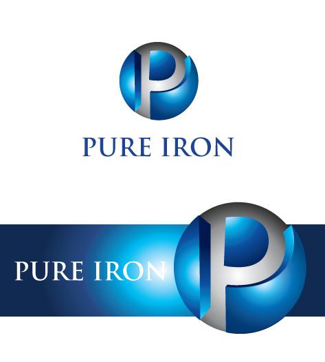 Logo Design by Sohil Obor - Entry No. 168 in the Logo Design Contest Fun Logo Design for Pure Iron.