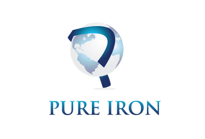 Logo Design by Sohil Obor - Entry No. 169 in the Logo Design Contest Fun Logo Design for Pure Iron.