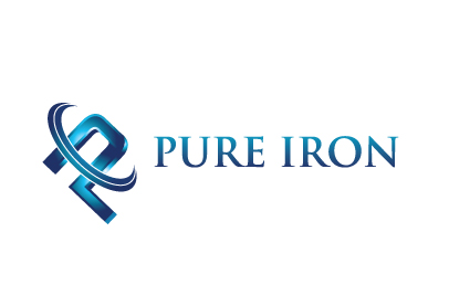 Logo Design by Sohil Obor - Entry No. 170 in the Logo Design Contest Fun Logo Design for Pure Iron.