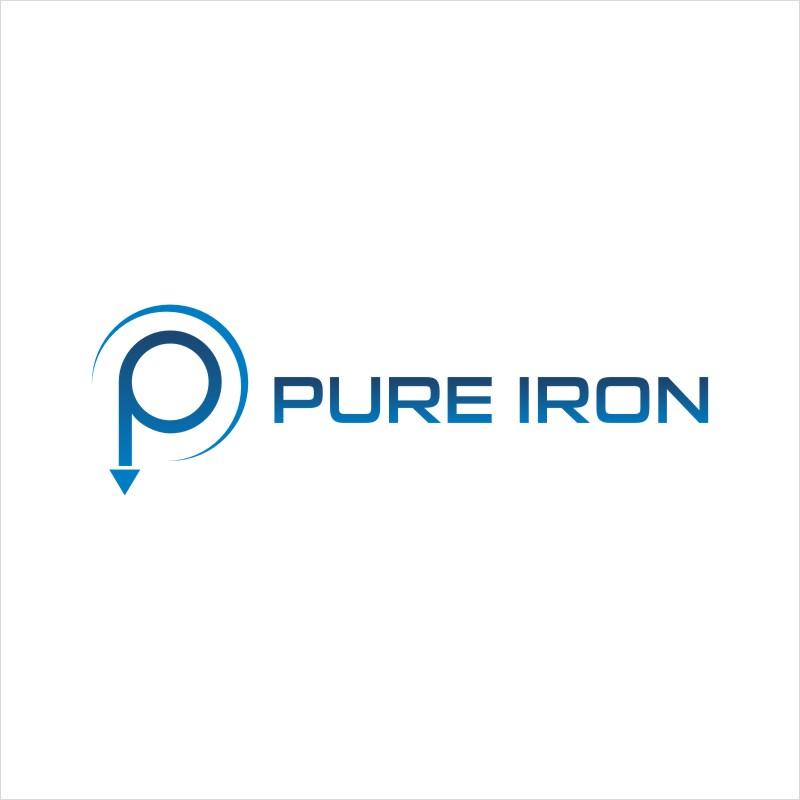 Logo Design by Private User - Entry No. 173 in the Logo Design Contest Fun Logo Design for Pure Iron.