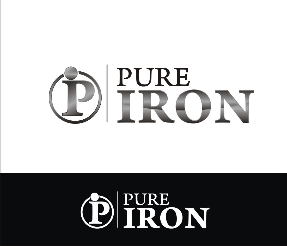 Logo Design by muladi - Entry No. 174 in the Logo Design Contest Fun Logo Design for Pure Iron.