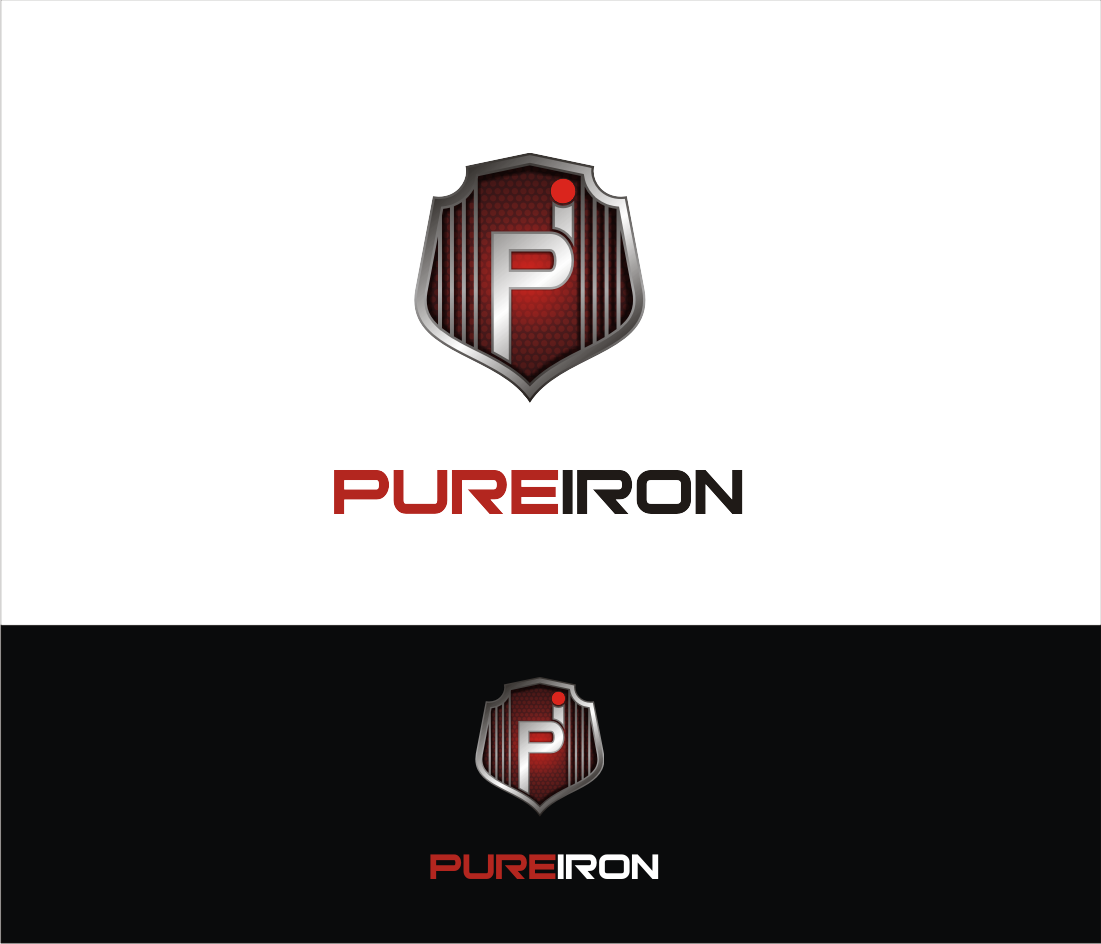 Logo Design by muladi - Entry No. 179 in the Logo Design Contest Fun Logo Design for Pure Iron.