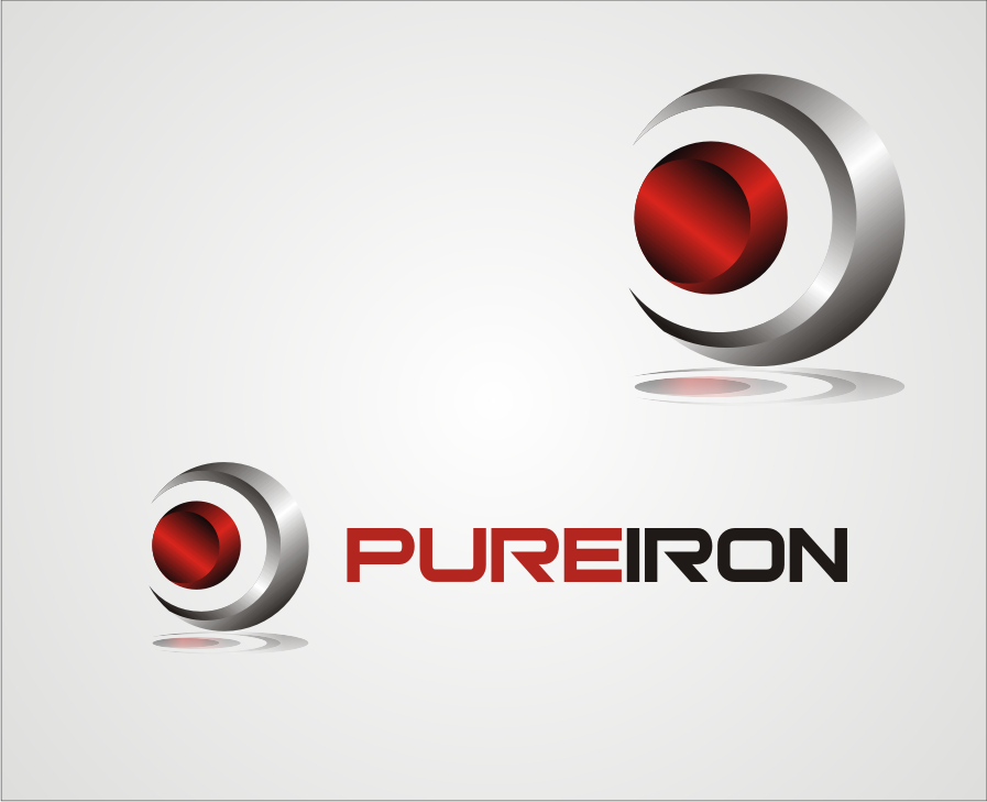 Logo Design by muladi - Entry No. 180 in the Logo Design Contest Fun Logo Design for Pure Iron.