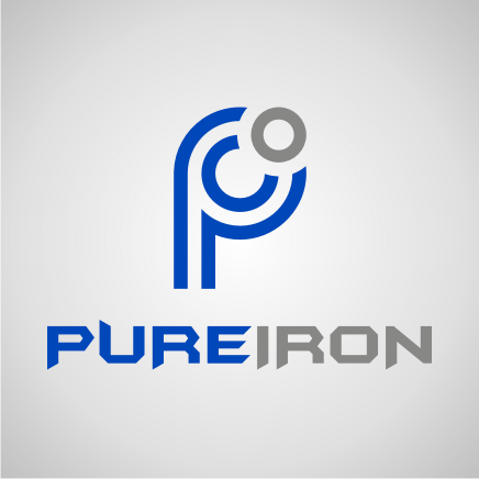 Logo Design by Artbeno Artbeno - Entry No. 182 in the Logo Design Contest Fun Logo Design for Pure Iron.