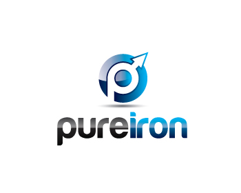 Logo Design by lead - Entry No. 183 in the Logo Design Contest Fun Logo Design for Pure Iron.
