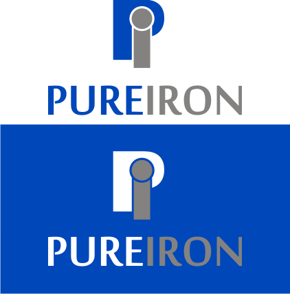 Logo Design by Artbeno Artbeno - Entry No. 184 in the Logo Design Contest Fun Logo Design for Pure Iron.