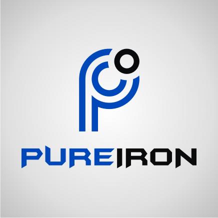 Logo Design by Artbeno Artbeno - Entry No. 185 in the Logo Design Contest Fun Logo Design for Pure Iron.