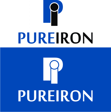 Logo Design by Artbeno Artbeno - Entry No. 186 in the Logo Design Contest Fun Logo Design for Pure Iron.