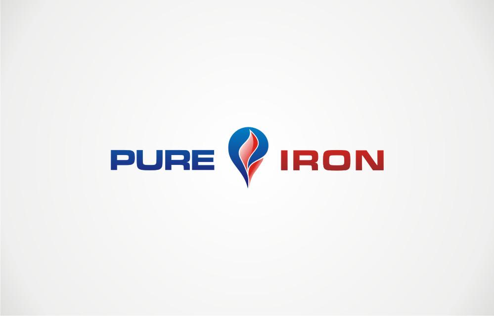 Logo Design by Private User - Entry No. 187 in the Logo Design Contest Fun Logo Design for Pure Iron.