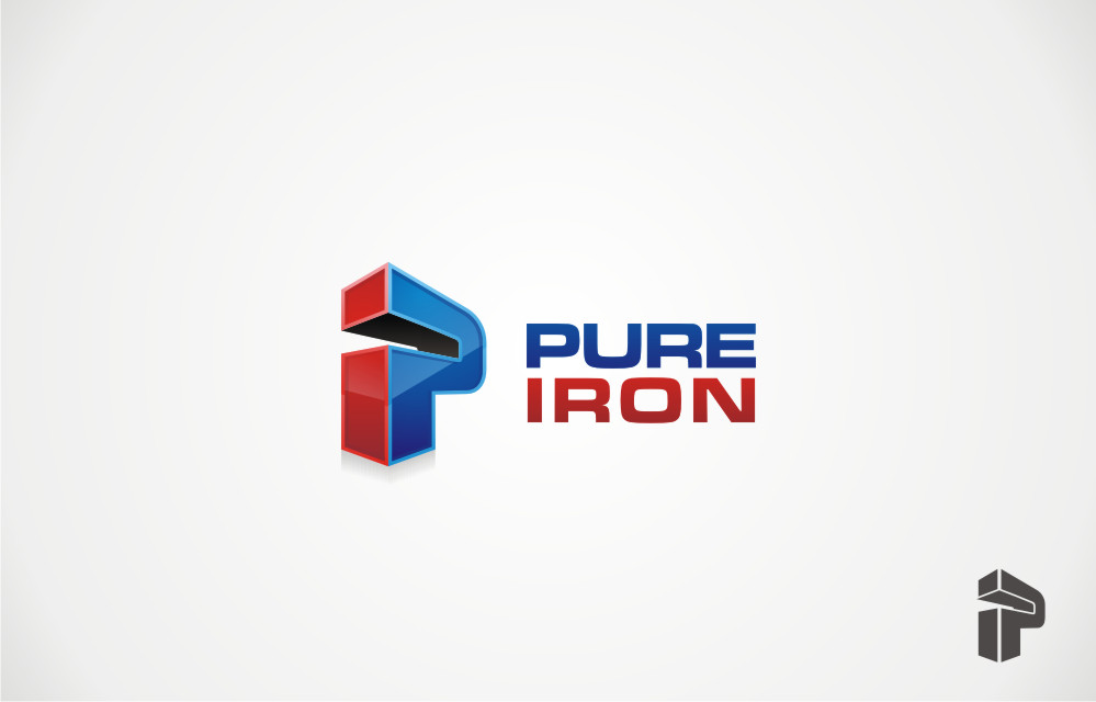 Logo Design by Private User - Entry No. 188 in the Logo Design Contest Fun Logo Design for Pure Iron.