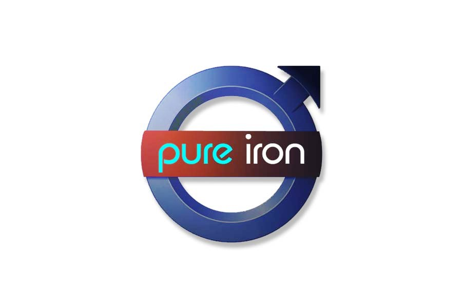 Logo Design by Private User - Entry No. 190 in the Logo Design Contest Fun Logo Design for Pure Iron.