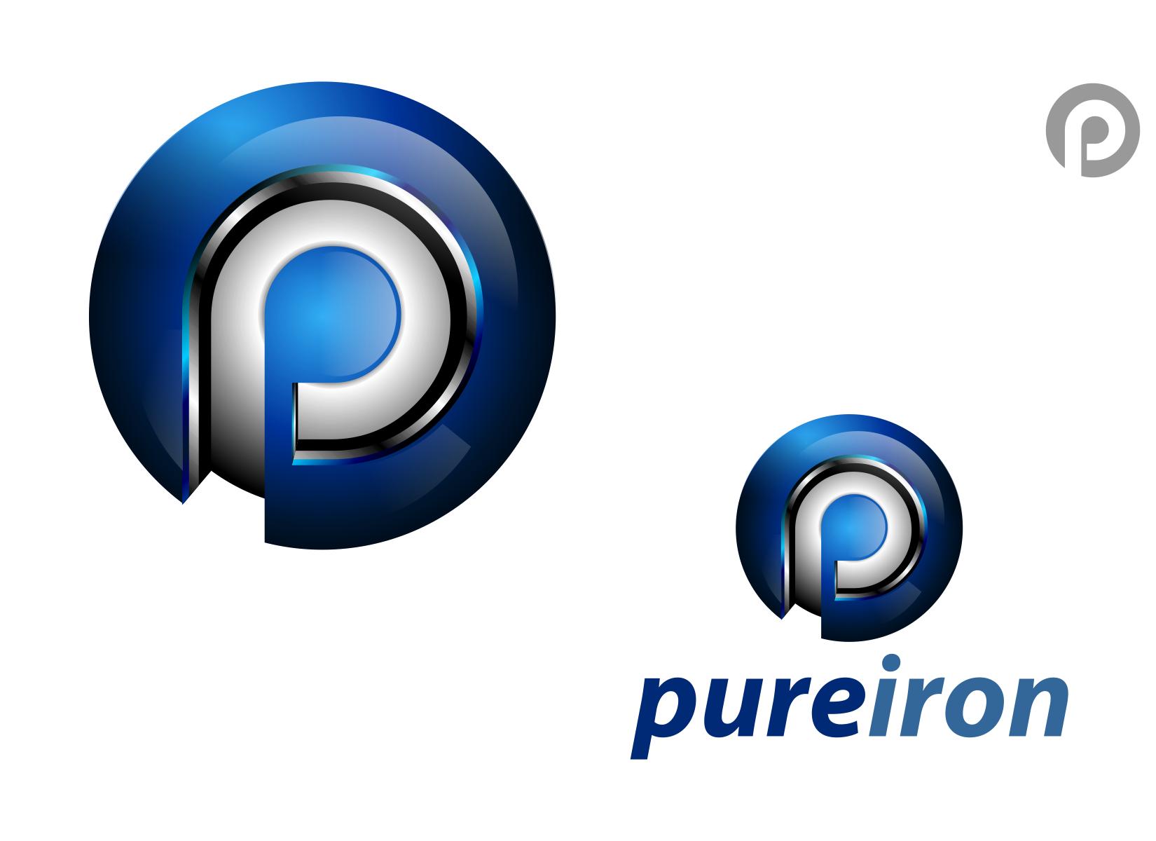 Logo Design by Spayer - Entry No. 197 in the Logo Design Contest Fun Logo Design for Pure Iron.