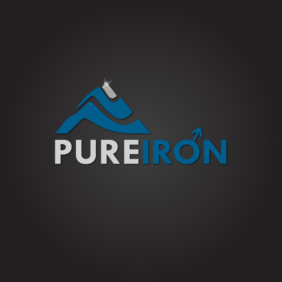 Logo Design by moonflower - Entry No. 204 in the Logo Design Contest Fun Logo Design for Pure Iron.