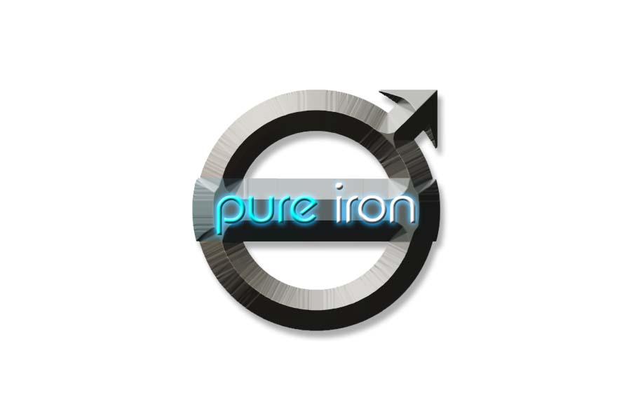 Logo Design by Private User - Entry No. 208 in the Logo Design Contest Fun Logo Design for Pure Iron.