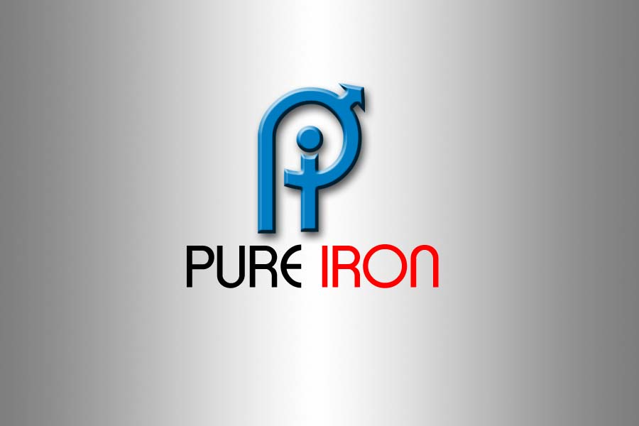 Logo Design by Private User - Entry No. 212 in the Logo Design Contest Fun Logo Design for Pure Iron.