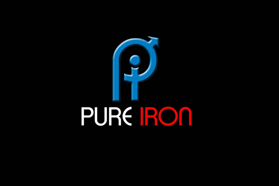 Logo Design by Private User - Entry No. 213 in the Logo Design Contest Fun Logo Design for Pure Iron.